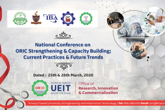 National conference on ORIC strengthening and capacity