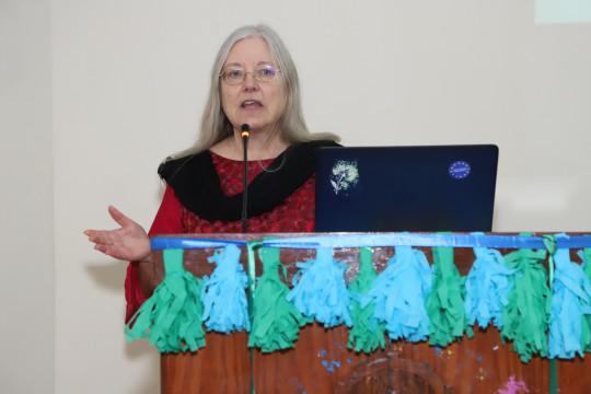 Jennet (Professor From UK) Visits KFUEIT