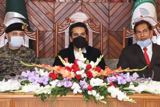 Visit of Finance Minister Punjab Makhdoom Hashim Jawan Bakht
