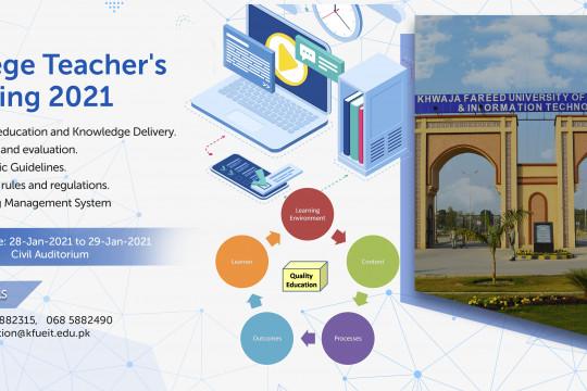 College Teachers's Training 2021