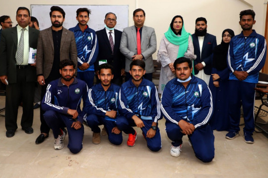 Winner Students of Divisional Level Commissioner Cup Athletics Meet 2020