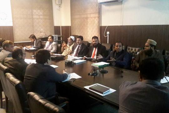 Zero Visit of Pakistan Engineering Council Civil Engineering Department 2016