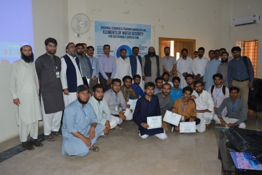Seminar on Elements of Water Security