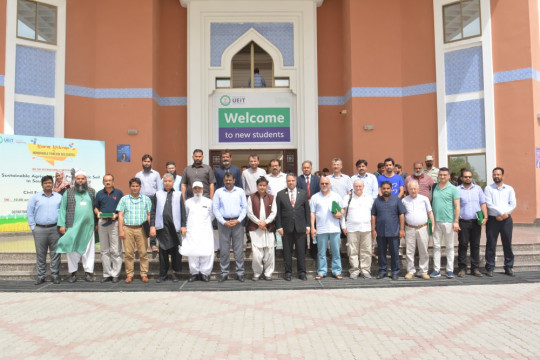 One day International Symposium on Sustainable Agriculture on Problematic Soil in Southern Punjab