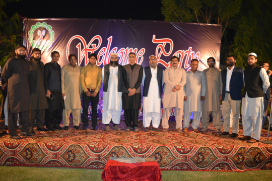 Welcome Party Civil Engineering Department Session 2019