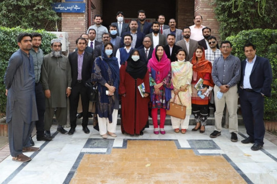 A delegation of KFUEIT paid a visit to Sukkur IBA University